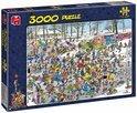 Jan van Haasteren Op Glad IJs - Puzzel - 3000 stukjes
