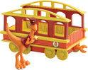 Dinosaurus Trein - Conducteur met Trein Wagon