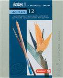 Bruynzeel Aquarel Box - 12 Potloden