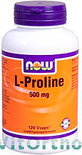 Now L-Proline 500 mg Capsules 120 st