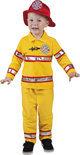 Brandweer - Kostuum - 3-4 jaar