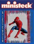 Ministeck Spider-Man Kneeling Red 1750-delig
