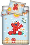 Sesamstraat Peuterdekbedovertrek Elmo