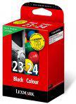 Lexmark 23 / 24 - Inkcartridge / Zwart / Cyaan / Mangenta / Geel