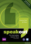Speakout Pre-Intermediate Students Book and DVD/Active Book Multi-Rom Pack