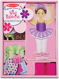 Nina Ballerina Magnetische Aankleedpop