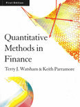 Quantitative Methods For Finance
