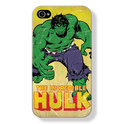Marvel Satin Case voor iPhone 4S / 4, Hulk (Vintage)