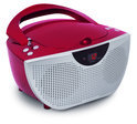 Draagbare radio en CD speler - Rood