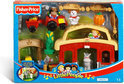Fisher-Price Little People dierengeluiden stal met tractor