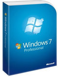 Microsoft Windows 7 Professional English Row Dvd