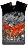 KNVB Ons Team Dekbedovertrek - Oranje - 1-persoons - 140x200