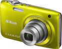 Nikon Coolpix S3100 - Geel
