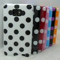 Samsung Galaxy S2 Polka Dot hoesje case cover - wit