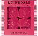 Riverdale Aroma wax melts Joy - 10 cm - Fuchsia
