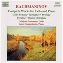 Rachmaninov:Works For Cello