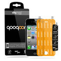 QooQoon silqShield™ Invisible Screenprotector voor Apple iPhone 4/4S - Front met SmartApply