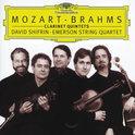 Mozart, Brahms: Clarinet Quintets / Shifrin, Emerson Quartet