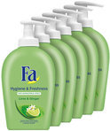 Fa Liquid Soap Hygiene&Fresh - 6x 250 ml - Voordeelverpakking - Handzeep