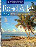2015 Road Atlas Midsize Easy to Read - Spiral