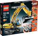 LEGO Technic Graafmachine Met Motor - 8043