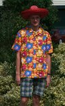 Hawaiishirt mannen 54 (xl)