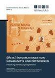 (Meta-) Informationen von Communitys und Netzwerken