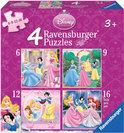 Ravensburger Puzzel: Beeldschone Prinsessen
