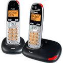 Fysic FX-5720 - Duo DECT telefoon - Grijs