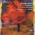 Grieg: Piano Concerto, Symphony in C minor, In Autumn -SACD- (Hybride/Stereo/5.1)