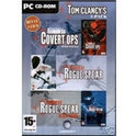 Tom Clancy's (3-Pack) Rainbow Six; Covert Operations, Rogue Spear, Black Thorn