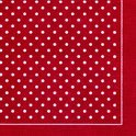 IHR Polka Dots Servet - Lunch - Rood