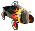 Metalen Trapauto Hot Rod