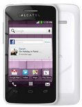 Alcatel One Touch T'Pop - Wit