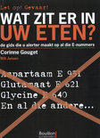 Wat zit er in uw eten?