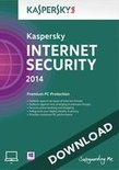 Kaspersky Internet Security 2014 1-pc 1 jaar directe download versie