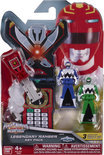 Power Rangers Set van 3 legendarische sleutelfiguren