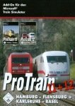 Blue Sky Interactive pc CD-ROM ProTrain 11 + 12 Bundle: - Hamburg - Flensburg + Karlsruhe - Basel