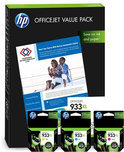 HP 933XL - Inktcartridge / Value Pack