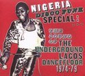 Nigeria Disco Funk Special: The Sound Of The Undergound Lagos Dancefloor
