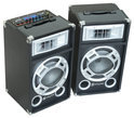 Skytec SPD-10 Speakers 10inch Actief USB LED 800W