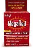 MegaRed 300mg Omega-3 Krill Olie 60 stuks - Voedingssupplementen