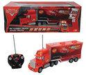 Cars Mack Truck - RC Vrachtwagen - Rood