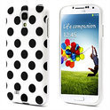 Samsung Galaxy S4 Polka Dot case cover - wit