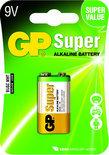 GP Super Alkaline 9V blok. blister 1