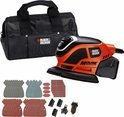 Black &amp; Decker Compacte Mouse detailschuurmachine + 22 accessoires KA1000