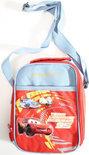 Cars Cooler lunch tas 15x22x8 cm licht blauw/rood