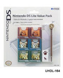 Hori Dogs Game Hoesjes & Stylus DS Lite