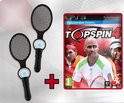 Top Spin 4 + 2 Rackets Ps3