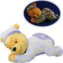 Nicotoy Winnie de Poeh 'Winnie' glow in the dark (30cm) - Knuffel
